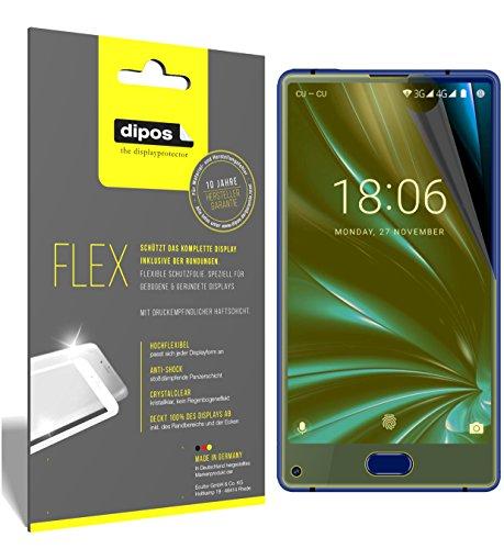 dipos I 3X Schutzfolie 100% passend für Doogee Mix Lite Folie (Vollständige Bildschirmabdeckung) Bildschirmschutzfolie