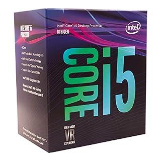 Intel Core i5-8400 Retail - (1151/Hex Core/2.80GHz/9MB/Coffee Lake/65W/Graphics) (B0759FGJ3Q) | Amazon Products