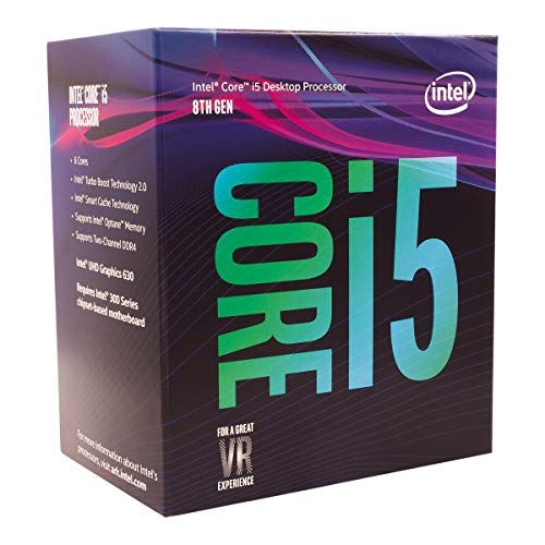 Intel Core i5-8400 Processore 9 MB di cache fino a 4.00 GHz