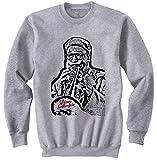 Photo de Teesquare1st Men's DIZZY GILLESPIE Grey Sweatshirt par TEESQUARE1st
