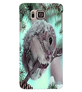 ColourCraft Cute squirrel Design Back Case Cover for SAMSUNG GALAXY ALPHA G850
