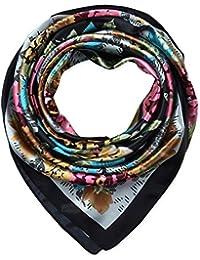 b07fc55a127fe Amazon.it  foulard di seta - Sciarpe e stole   Accessori  Abbigliamento