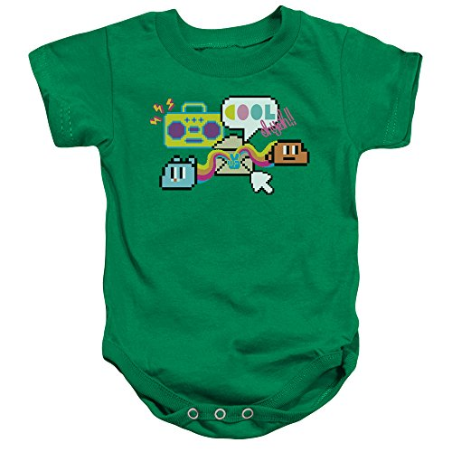 Amazing World Of Gumball - - Enfant en Bas âge Cool Oh Yeah Onesie, 12 Months, Kelly Green