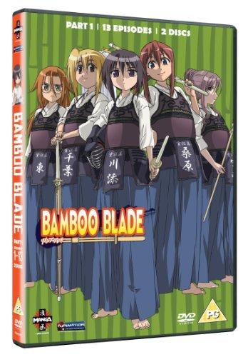 Bamboo Blade - Series 1 Part 1 [DVD] by Hisashi Saitou (Blade Bamboo)
