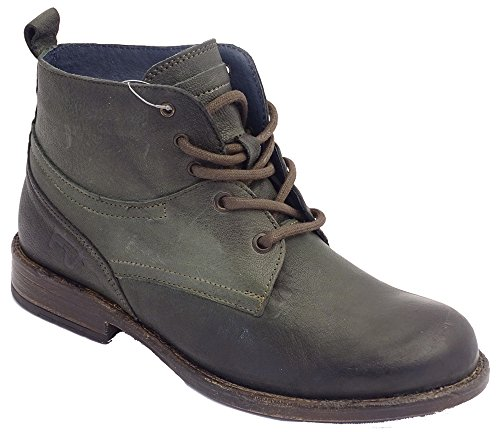 MICCOS Shoes - Damen Desert Boots - BOSCO - Waterproof - Dkl.grün Dunkelgrün