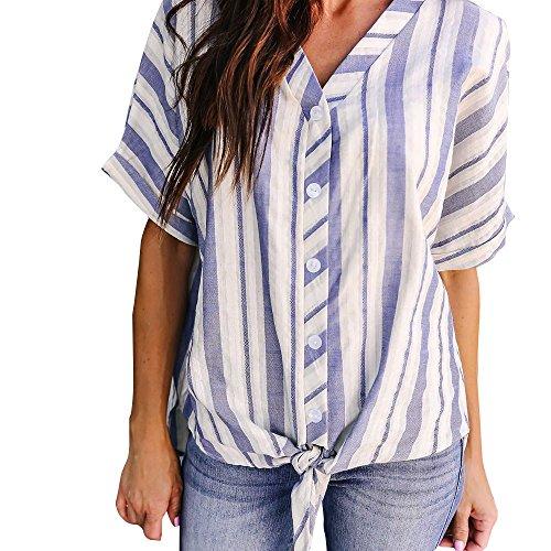T Shirt Damen Sommer Kurzarm Schulterfrei Lose Große Größe Top Bluse Oberteil T-Shirt Weihnachten Jahr ()