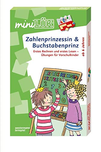 miniLÜK-Set. Zahlenprinzessin & Buchstabenprinz