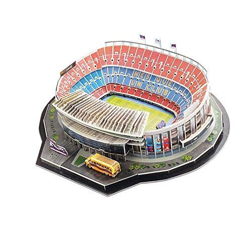 Xueyanwei Coppa Del Mondo Assemblare Puzzle Camp Nou Stadio 3D Modello Di Calcio Fans Memorabilia Giocattoli Regalo Per Lo Sviluppo Dei Bambini ' Interessi A Calcio
