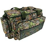 fishing tackle bag - camo carryall / holdall carp fishing, game fishing sea