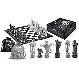 HARRY POTTER sorciers Chess Set 32 pièces + ÉCHIQUIER Noble Collection