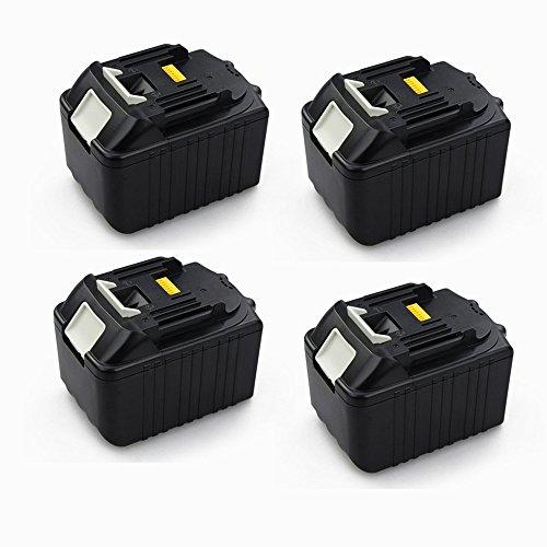 Preisvergleich Produktbild 4X 6,0Ah 18V bl1860 Akku Batterie für Makita BL1860 BL1840 BL1850 BL1860 LXT400