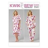 KwikSew Damen Schnittmuster 4089Schlafanzug & Nachthemd