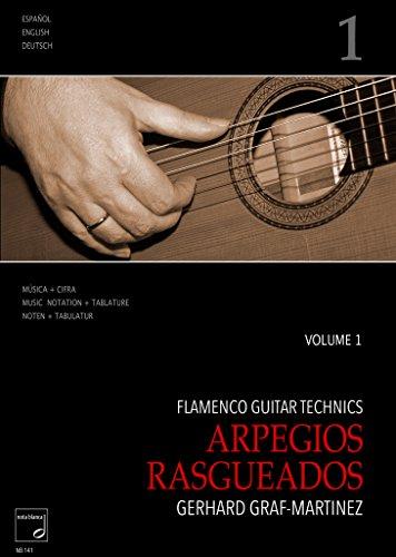 Flamenco Guitar Technics Vol.1–Arpegios, rasgueados: