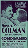 Picture of Condemned [1930] [VHS]