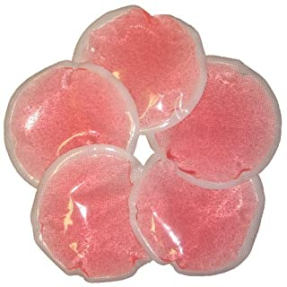 Ice Packs (Round Pink) Set of 5 by Accurate Manufacturing