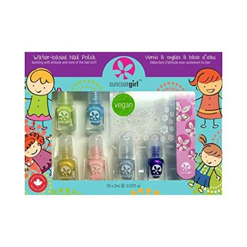Suncoat girl - kit di smalti vegan mini mani per bambini