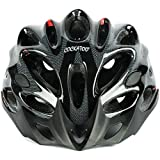 Cockatoo Professional Multi-Colour Cycling Helmet, Skating Helmet (Black, Large)