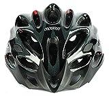 #2: Cockatoo Professional Multi-Colour Cycling Helmet, Skating Helmet (Black, Large)