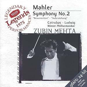 """Mahler : Symphonie n° 2 """"Résurrection"""""""