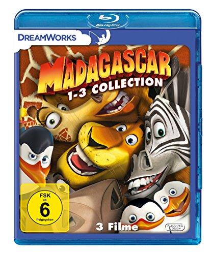 Madagascar 1-3 [Blu-ray] (Madagascar 2 Blu Ray)