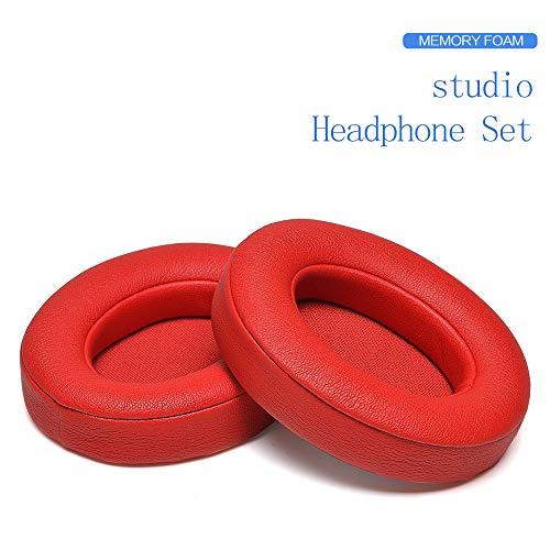 Cuscinetti di Ricambio per Cuffie, Cuscinetti Auricolari Ear Pad/Orecchio Cuscino/Orecchio Cover/Parti di Riparazione per Beats by Dr. Dre Studio2 3, Studio 2.0 3.0