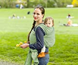 Fular portabebés elástico - Stretchy Wrap – Chibolo (Cameo Green)