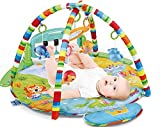 Meero London HE0610 New Born Baby Play mat Gym with Large Key Board