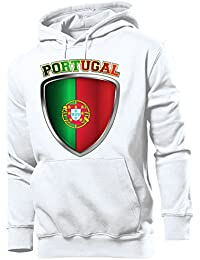 FOOTBALL WORLD CUP - EUROPEAN CHAMPIONSHIP - PORTUGAL FAN Homme Sweats à capuche Small - XX-Large