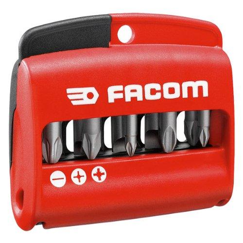 Jeu d'embouts mixte - 25 mm - Coffret de 10 pièces - Facom