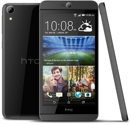 HTC Adulescence Desire 826 D826 W Dual SIM 14 cm 4 G LTE Smartphone Android 1.7 GHz 16 Go de ROM débloqué (black)