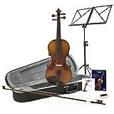 Violon Étudiant Plus 3/4 Aspect Antique + Pack accessoires par Gear4Music