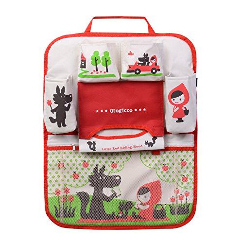 HomDsim Cartoon Autositz Zurück Organizer Aufbewahrungsbeutel Hängen Auto Organizer Taschen Tasche für Kinder Kinder (Mädchen) - Spielzeug Autositz Mädchen