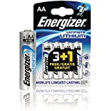 Energizer - Pile ronde lithium ultimate - Modèle.FR06 - Type.AA - Cond..4 -