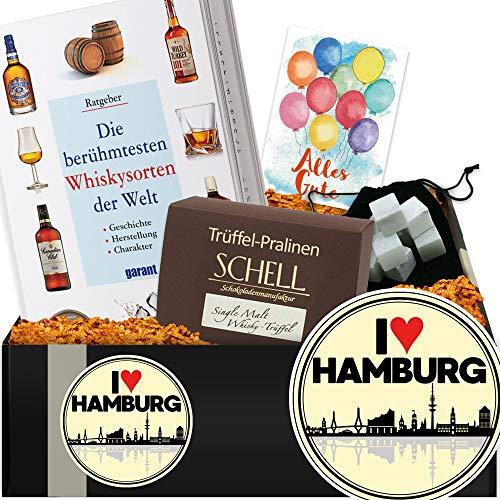 I ✿ Hamburg | Whiskey Geschenk | Hamburg Geburtstag Geschenk