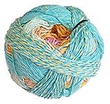 Schoppel Zauberball Crazy Cotton Fb. 2367 Sommermärchen, Baumwollgarn mit Farbverlauf