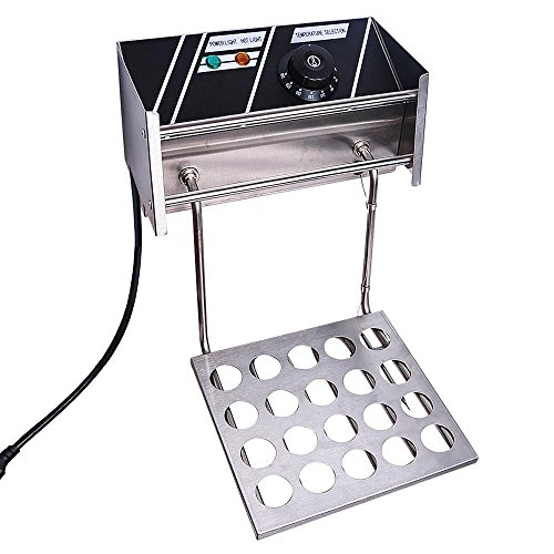 51hEnjAiCrL. SS500  - ReaseJoy 3000W 10L Electric Deep Fryer Countertop Stainless Steel Single Tank with Drain Timer Basket Commercial Home