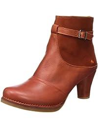 c810bc987 Amazon.es  Naranja - Botas   Zapatos para mujer  Zapatos y complementos