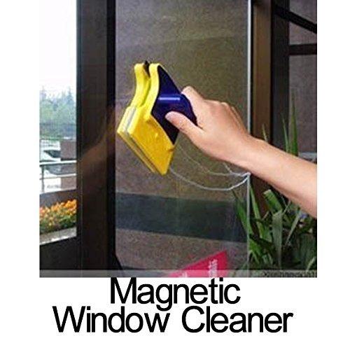 GN empresas doble cara Limpiador de vidrio magnético con 2Extra Limpieza Limpiador de algodón para puertas y ventanas de cristal coche ventana