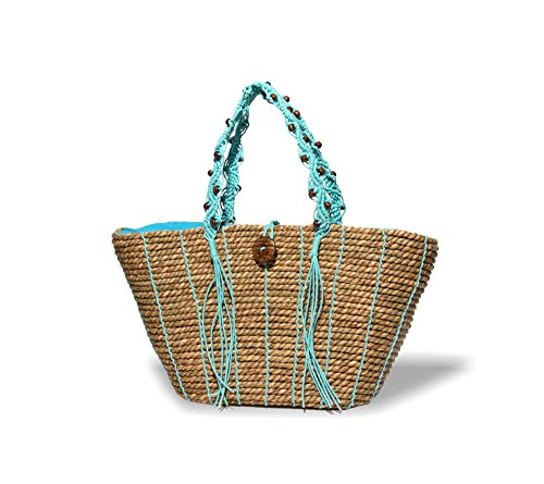 physician-endorsed-womens-turks-and-caicos-fully-lined-bag-with-coconut-button-natural-turquoise-one