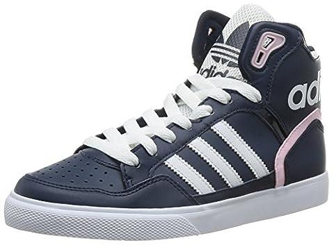 adidas Damen Extaball High-Top, Blau (Collegiate Navy/Ftwr White/Clear Pink), 36 2/3 EU