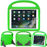 """eTopxizu Case for New iPad 9.7 2018/2017,Light Weight Shockproof Kids Case Cover with Handle Stand Case for iPad 9.7 inch 2018/2017 Latest Gen/iPad Air/Air 2/iPad Pro 9.7"""", Green"""