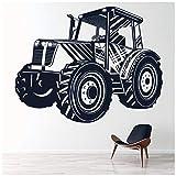 azutura Tracteur Véhicule agricole Sticker Muraux Disponible en 5 Dimensions et 25 Couleurs Mousse Vert...