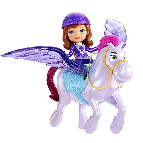 Disney Princess - Sofia die Erste - Set Puppe Sofia & Fliegendes Pferd Minimus