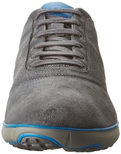 Geox Nebula A Chaussures Sport Hommes Gris Daim Dunkel-grau