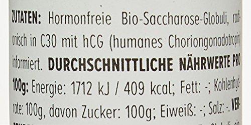 HCG Globuli für Stoffwechselkur (HCG Diät) - Potenz C30, 100% hormonfrei (Das Original aus der...