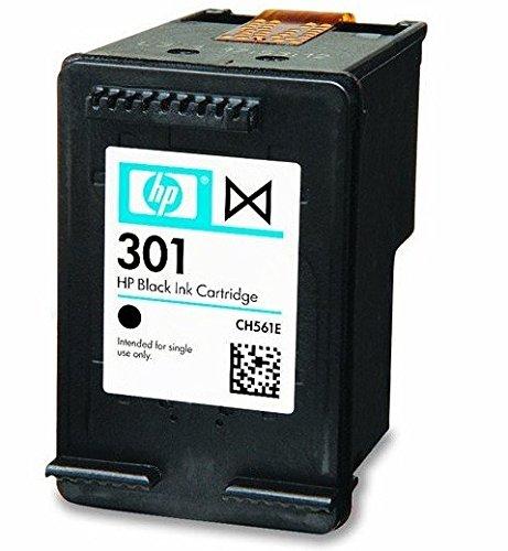 Original HP 301 Tintenpatrone, Schwarz, für Drucker HP Envy 5530