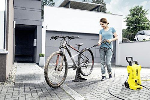 Kärcher Hochdruckreiniger K 2 Full Control inkl. Click Vario Power Strahlrohr mit vordefinierten Druckstufen und Dreckfräser, Reinigungsmittel-Ausbringung und Quick Connect Funktion (max. 20-110 bar, 360 l/h) -