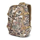 Zaino dello zaino 600D Tifosi militari Tattiche zaino Uomini e donne con buco auricolari Zaino Outdoor Camouflage impermeabile , cp