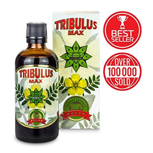 Cvetita Herbal, Tribulus Terrestris Bulgare, Bulgarian TRIBULUS 100 ml liquide, Améliorez la masse musculaire, Stimulant extrême de testostérone, Augmenter libido