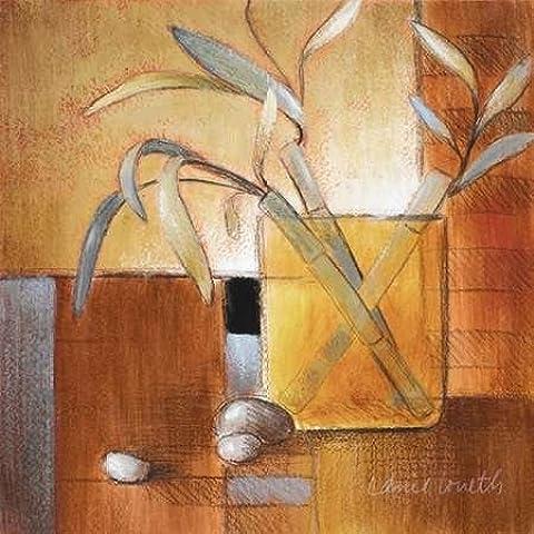 Impresión de Arte Fino en lienzo : Afternoon Bamboo Leaves III by Loreth, Lanie - pequeña (48 x 48